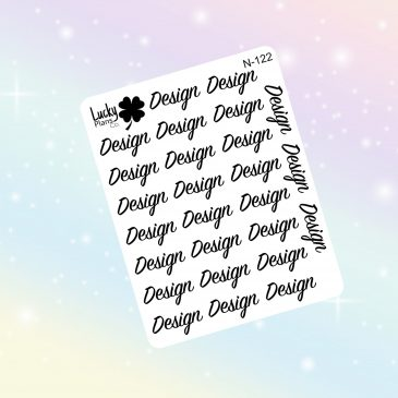 Design stickers