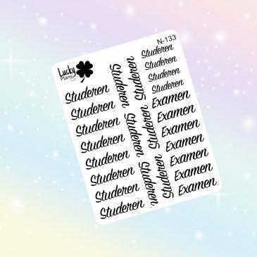 Examen stickers